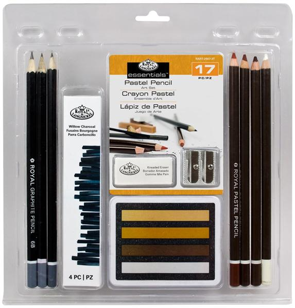 "17 dijelni set ""Pastel Pencil ART Set"""