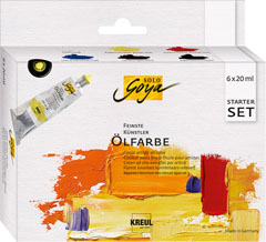 Uljane boje Finest Artists Solo Goya Starter Set 6x20 ml