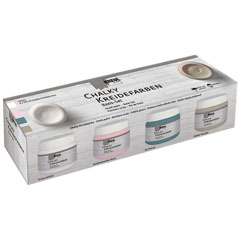 Chalk paint boja Kreul Basic set 4 x 150 ml